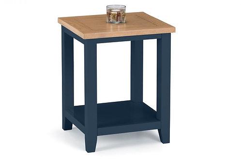 Richmond Lamp Table - Midnight Blue