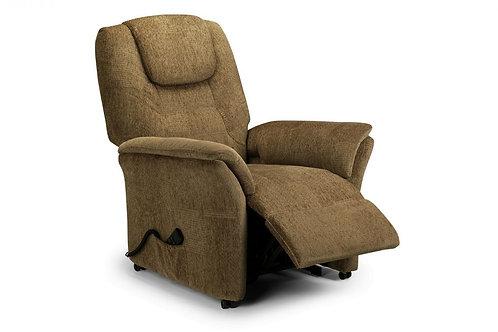Riva Rise & Recline Chair - Cappuccino Chenille