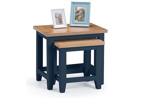 Richmond Nest of Tables - Midnight Blue