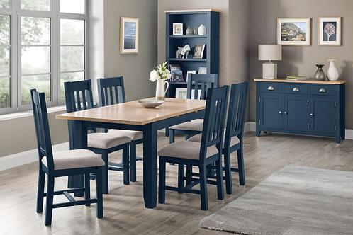 Richmond Dining Set - Midnight Blue