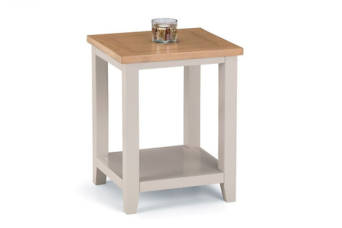 Richmond Lamp Table - Elephant Grey