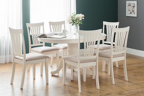Stamford Round to Oval Extending Dining Set