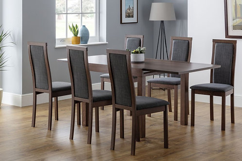 Melrose Extending Dining Set - 6 Chairs