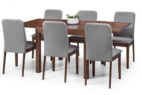 Melrose & Berkeley Dining Set (6 Chairs)