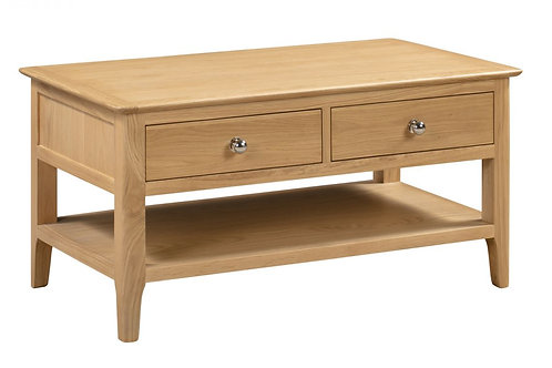Cotswold Coffee Table with 2 Drawers