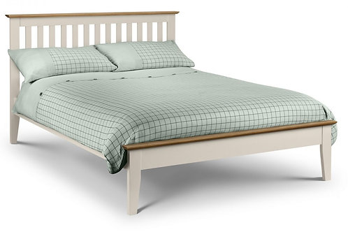 Salerno Shaker Bed - Two Tone - Double