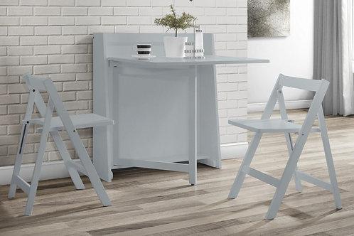 Helsinki Dining Set - Light Grey