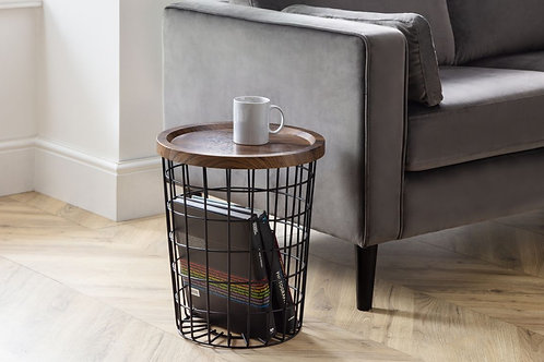 Smithson Storage Lamp Table
