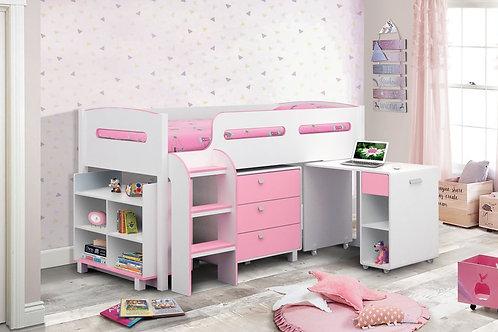 Kimbo Cabin Bed - Pink