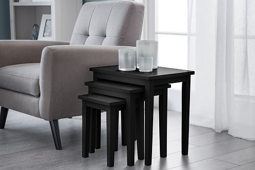 Cleo Nest of Tables - Black