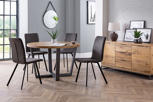 Brooklyn Round & Monroe Dining Set