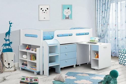 Kimbo Cabin Bed - Blue