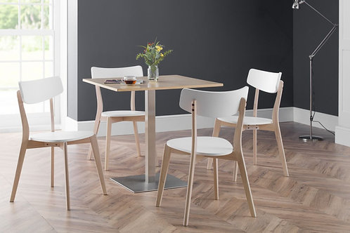 Pisa Oak & Casa Dining Set