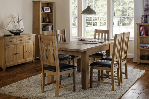 Astoria Extending Oak Dining Set