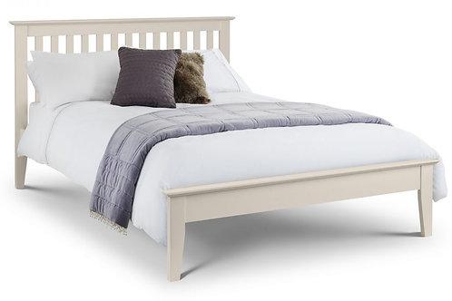 Salerno Shaker Bed - Ivory - Kingsize