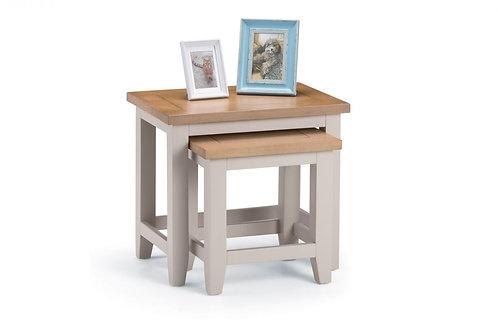 Richmond Nest of Tables - Elephant Grey