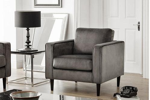 Hayward Velvet Armchair