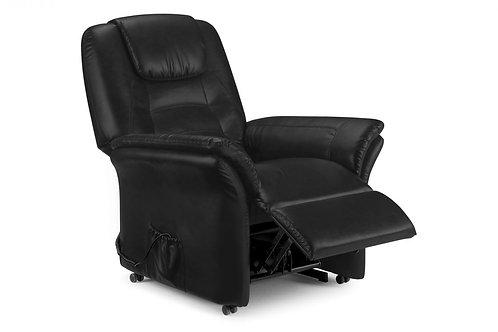 Riva Rise & Recline Chair - Black