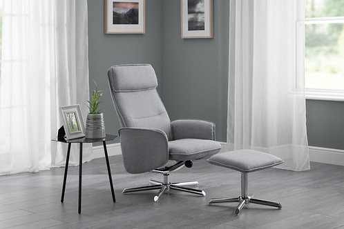 Aria Recliner & Stool