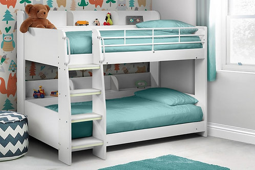 Domino Bunk Bed - All White