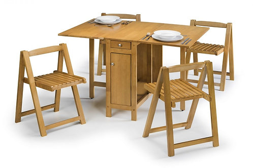 Savoy Dining Set - Light Oak Finish