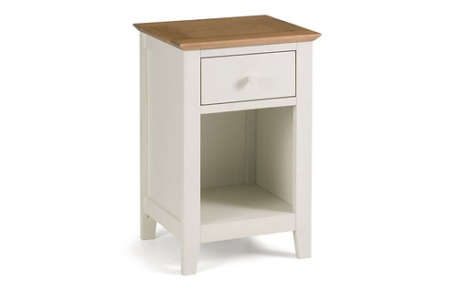 Salerno 1 Drawer Bedside
