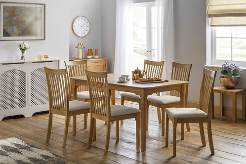 Ibsen Extending Oak Dining Set