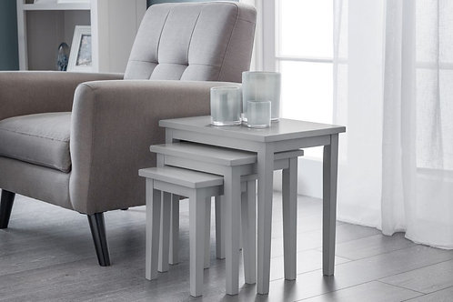 Cleo Nest of Tables - Lunar Grey