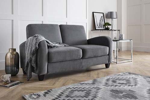 Vivo 2 Seater Sofa in Dusk Grey Chenille