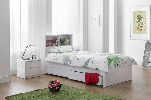 Manhattan Bookcase Bed - Single