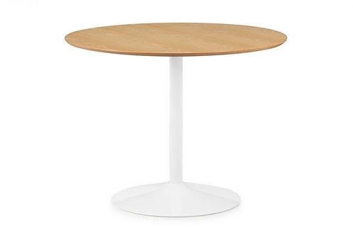 Blanco Round Table - Oak & White