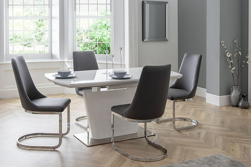 Como Dining Set (4 Chairs)