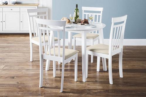 Coast Dining Set - White