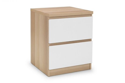 Jupiter 2 Drawer Bedside