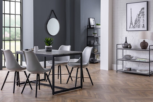 Staten & Kari Grey Dining Set