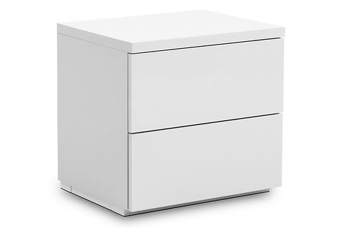 Monaco 2 Drawer Bedside