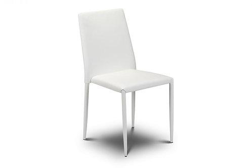 Jazz Stacking Chair - White