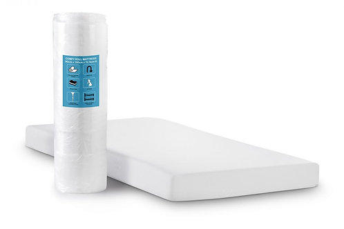 3ft Comfy Roll Mattress - Single