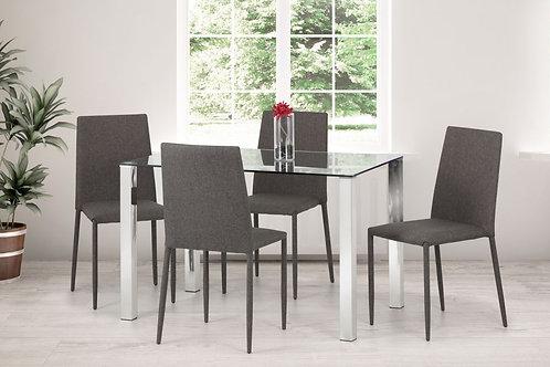 Enzo & Jazz Grey Dining Set