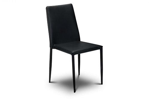 Jazz Stacking Chair - Black