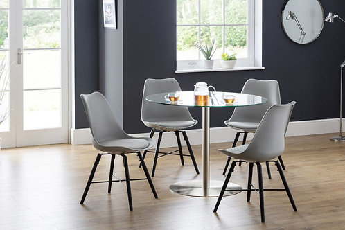 Milan & Kari Grey Dining Set