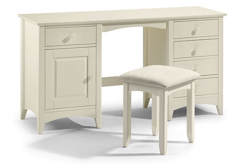 Cameo Dressing Table - Stone White