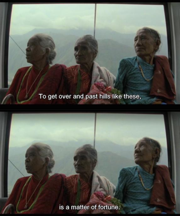 Manakamana (2013) (dir. Stephanie Spray and Pacho Velez)