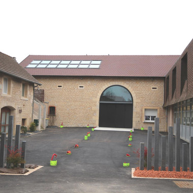 Salle des mariages à Chevigny St Sauveur
