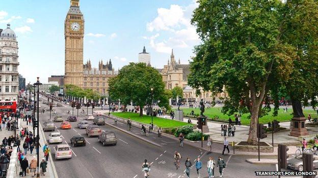 Biking lanes in London.jpg