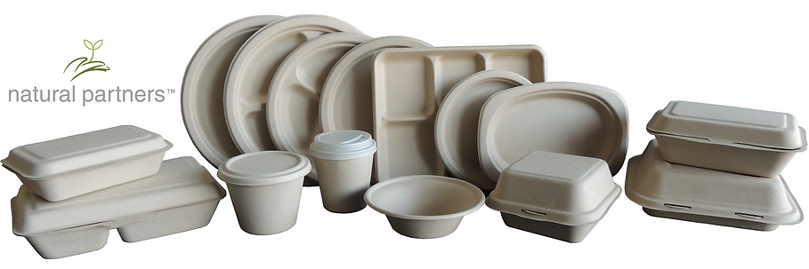100% Compostable Food Ware Disposables, Certified by USDA BioPreferred Program and BPI certified ASTM D6400; Eco Friendly Products