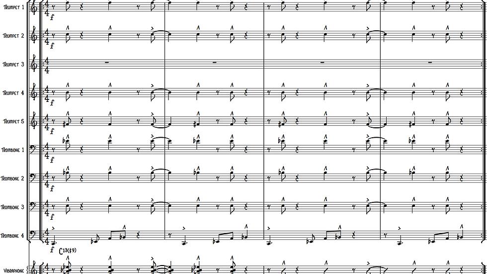 Ballad of Daniella IV (Jazz Ensemble)