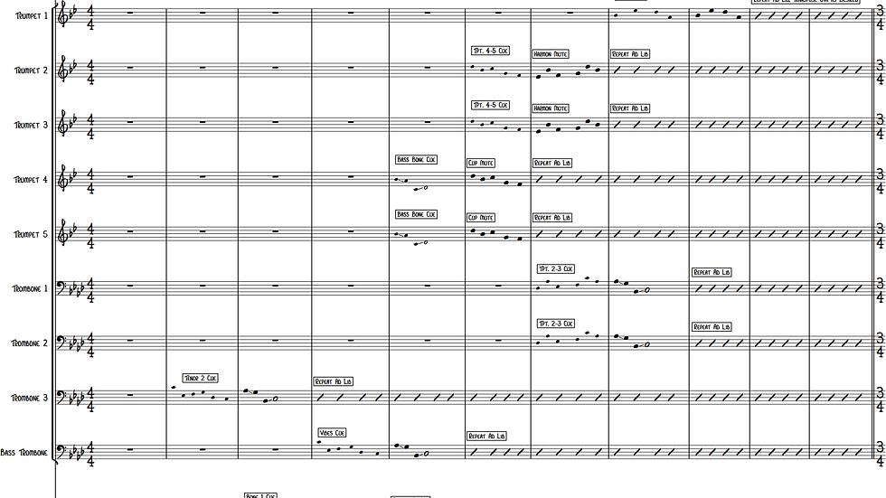Night Music (Jazz Ensemble)