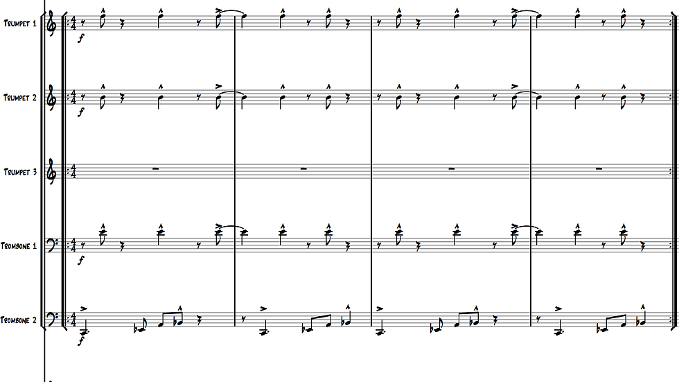 Ballad of Daniella IV (Medium Ensemble)