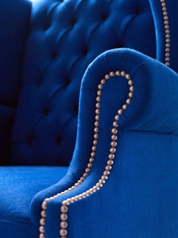 Wingback armchair